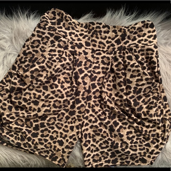 Leopard Lounge Shorts
